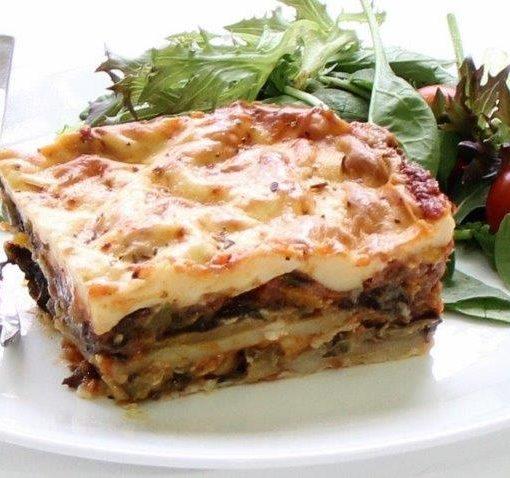 Vegetarian Moussaka Gluten Free Yianni Fine Food